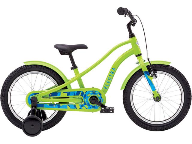 "Electra Sprocket 1 Børnecykel 16"" grøn"